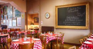 Restaurant de la gare à Bessé, menu du week-end à 18 €